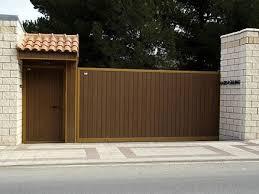 puerta corredera con lama perfil puerta vertical color madera