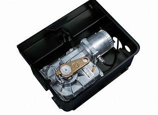 Accionador electromecánico enterrado para puertas batientes