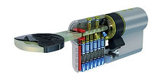 Cilindro TX80. Cilindro de alta seguridad TESA.
