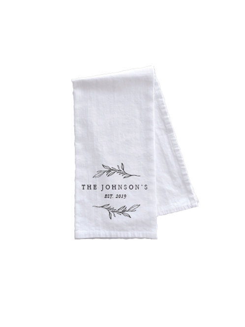 THE JOHNSON TOWEL