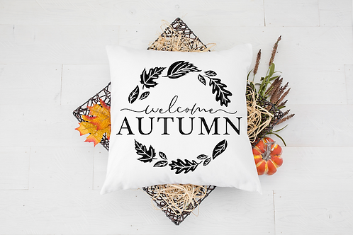 WELCOME AUTUMN PILLOW