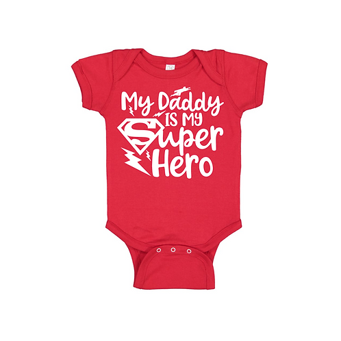 DADDY IS MY HERO SUPERMAN