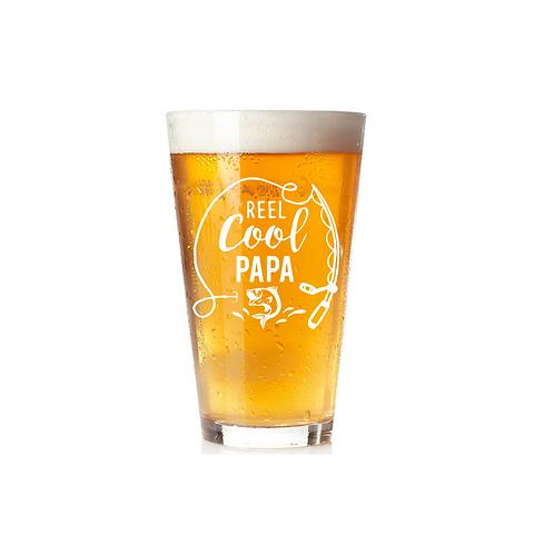 REEL COOL PAPA GLASS