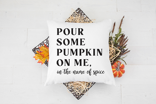 IN THE NAME OF SPICE PILLOW