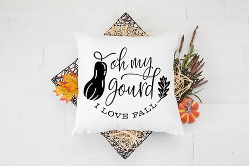 OH MY GOURD PILLOW