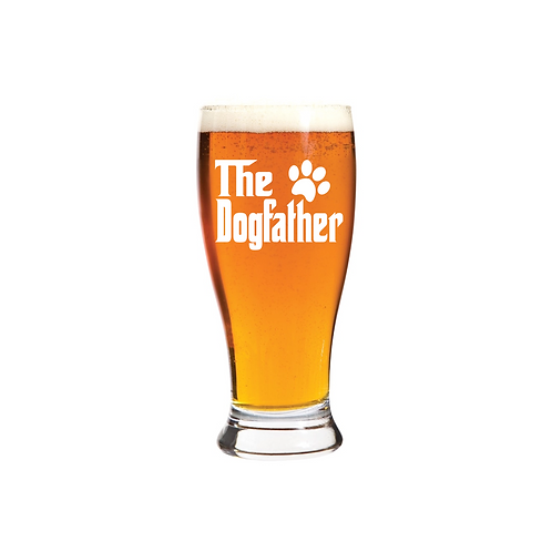THE DOGFATHER GLASS
