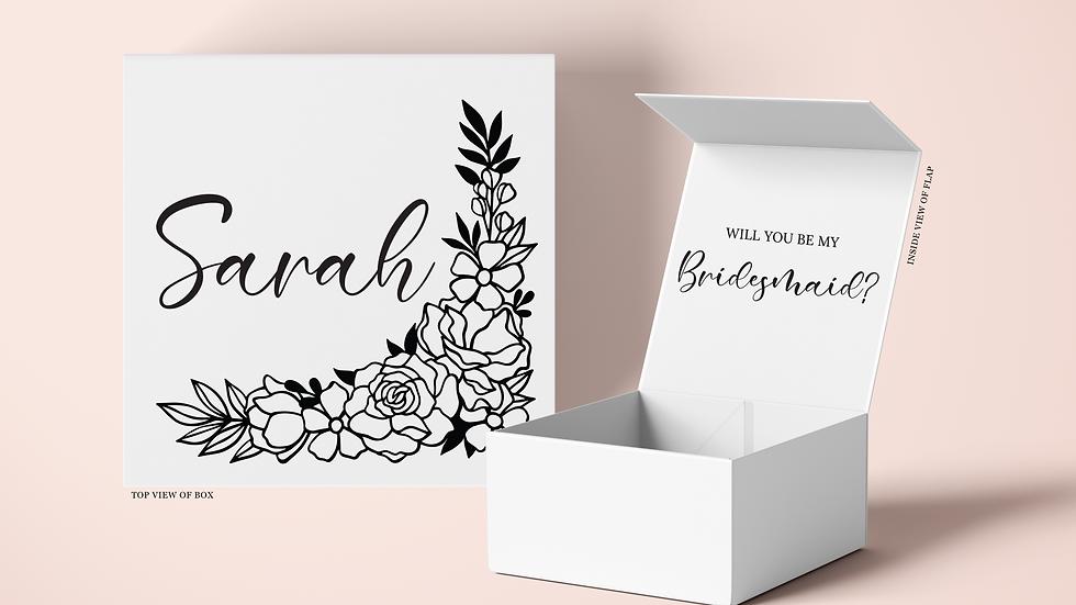 Floral Name Proposal Box