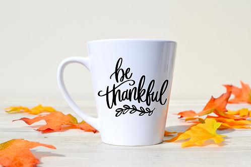 BE THANKFUL MUG