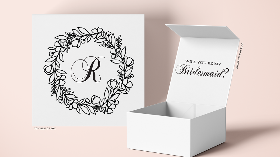 Floral Wreath Initial Proposal Box