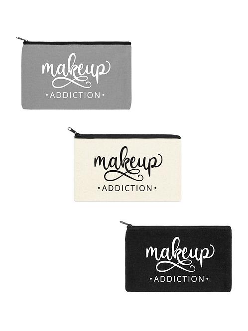 MAKEUP ADDICTION COSMETIC BAG