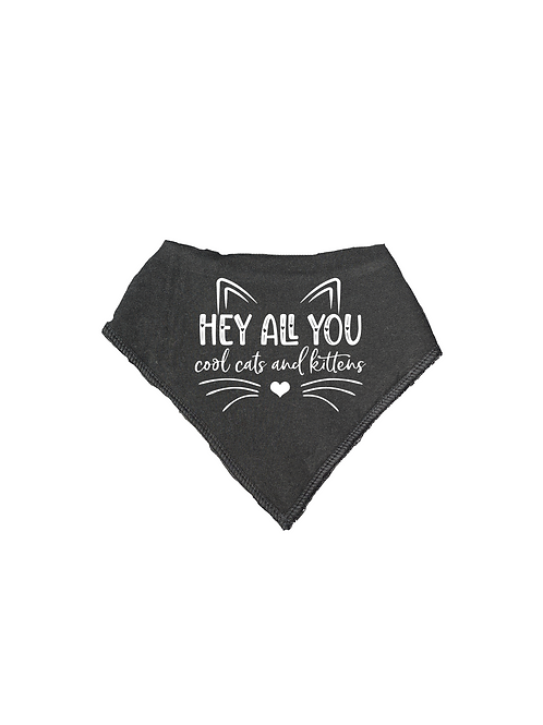 HEY ALL YOU COOL CATS BIB