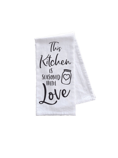 KITCHEN IS SEASONED WITH LOVE TOWEL