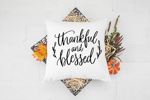 THANKFUL BLESSED PILLOW