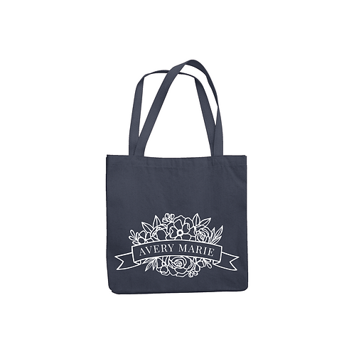 AVERY NAME TOTE