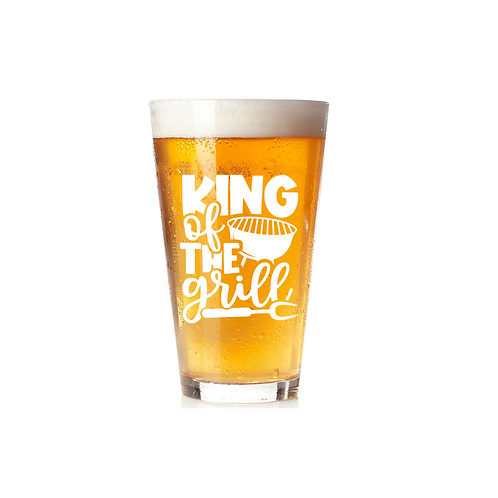 KING OF THE GRILL GLASS