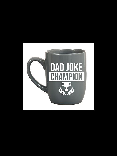 DAD JOKE CHAMPION MUG