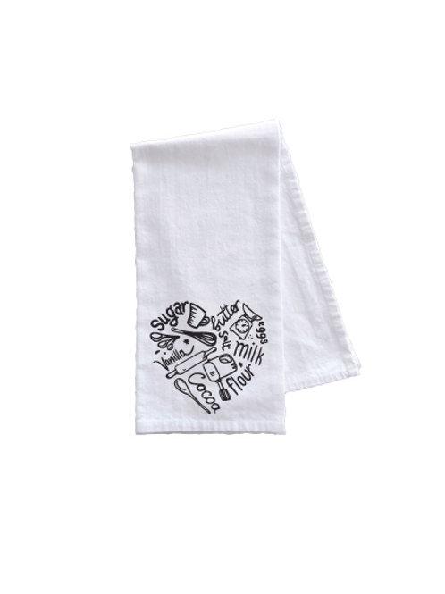 KITCHEN LOVE TOWEL