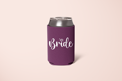 Bride, Maid of Honor, Bride Squad Koozie