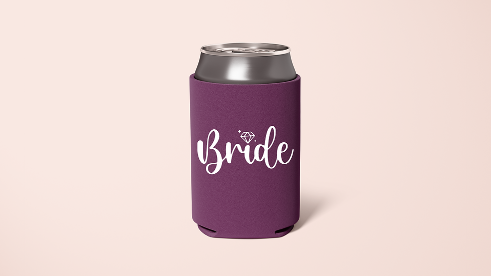 Bride, Maid of Honor, Bride Squad Koozie