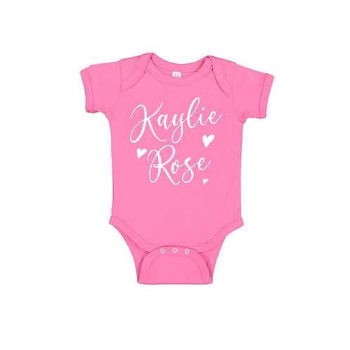 PERSONALIZED BABY NAME
