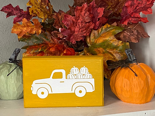FALL TRUCK SIGN