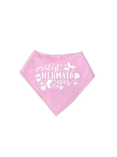 CUTEST MERMAID EVER BIB