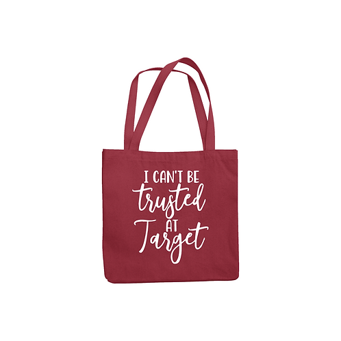 TRUSTED AT TARGET TOTE