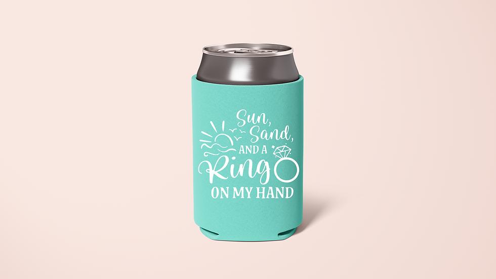 Sun Sand Ring, Sun Sand Drink Koozie