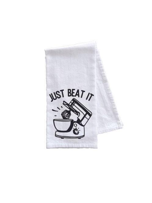 JUST BEAT IT TOWEL