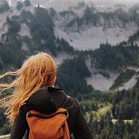 gelukkig Hiking