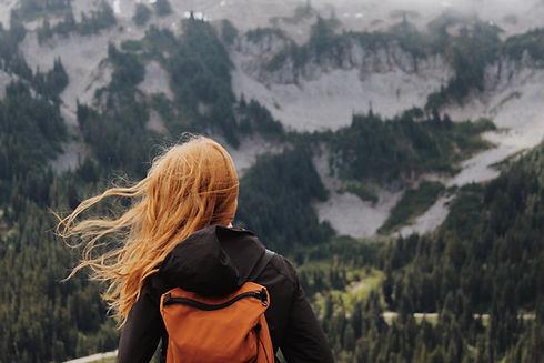randonnée heureux