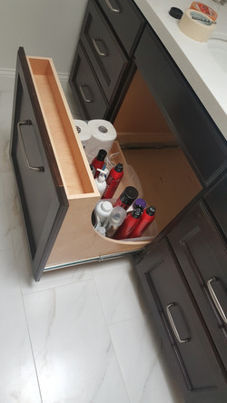 Under sink pull out