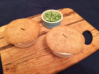 Paneer and Cauliflower Pie
