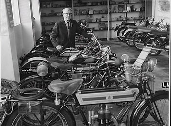 Fruin's motorcycle shop Benson