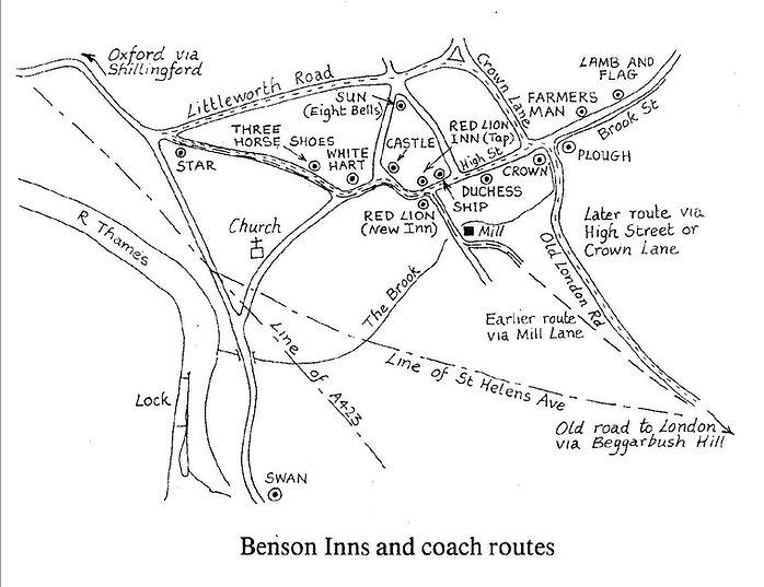 Benson history