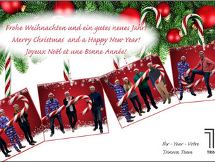 Frohe Weihnachten & gutes Neues Jahr