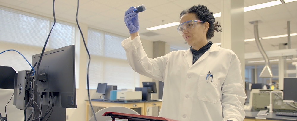 Raychelle Burks, a chemist at American University, discusses gender bias and racial discrimination in the new independent film Picture a Scientist.