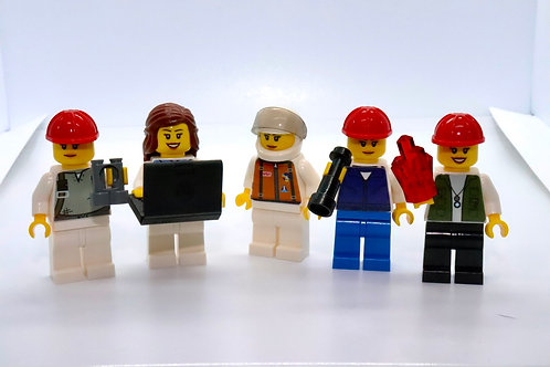 Womxn in STEM Minifigures: Set of Five (5)