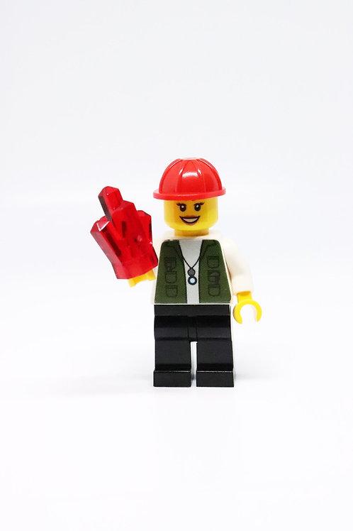 Geologist Minifigure