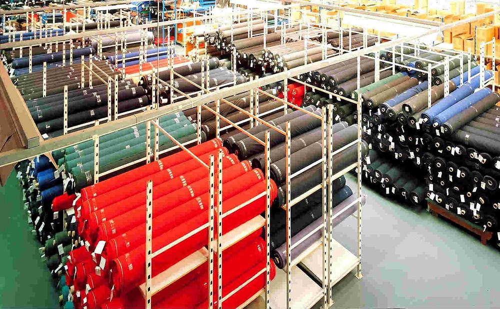 Склад швейного производства