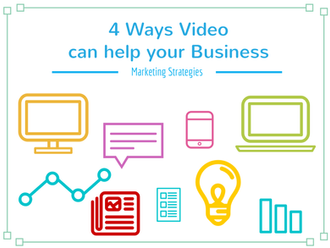 4 Ways Video can help your Business