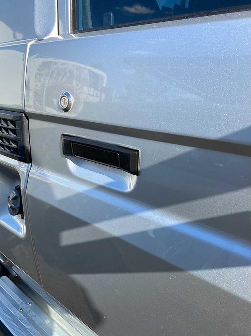 Landcruiser 70 Series Black Door Handles (PAIR)