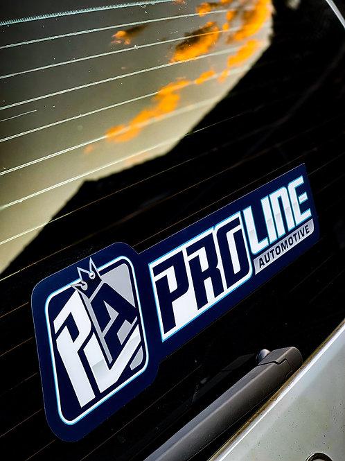 PLA Proline Window Banner (Large)