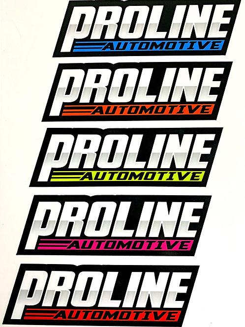 Proline NEON Toolbox Slapper Sticker