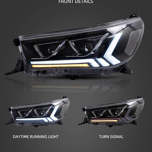 2015-2020 Toyota Hilux N80 Sequential LED Headlights