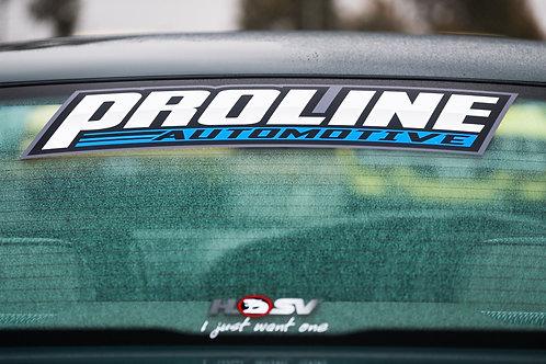 OG Proline Large Rear Window Sticker