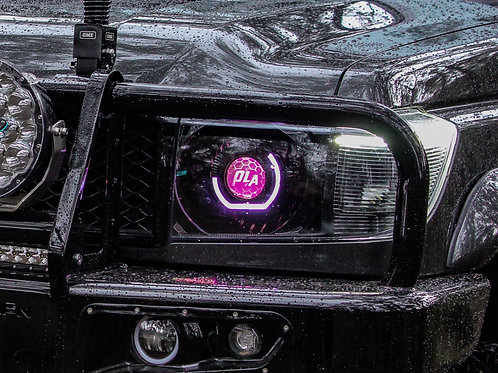 70 Series Angry Eyes Colour Change HID Projector Headlights