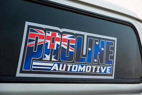 Proline STRAYA Rear Window Sticker