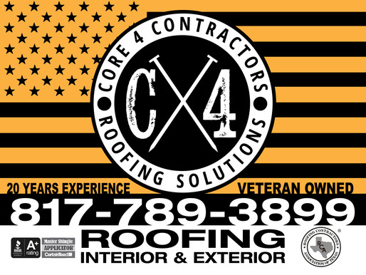 Welcome to Core 4 Contractors Blog Page