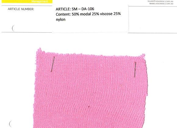 50% modal 25% viscose 25% nylon
